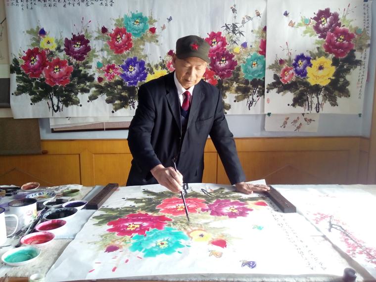 著名画家靳家宏作品艺术欣赏
