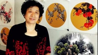 全能画家靳秀梅国画艺术