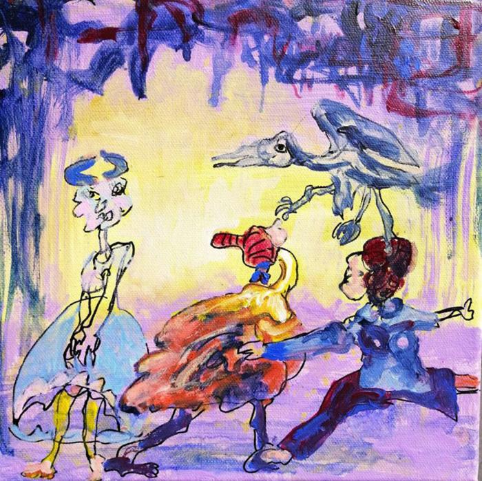 《浮世褶皱》作品系列