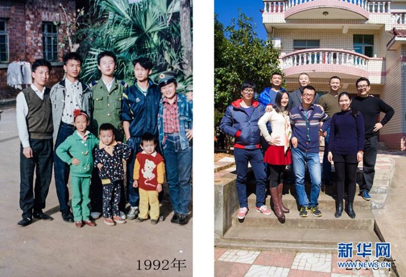 这些照片见证着40年生活变迁