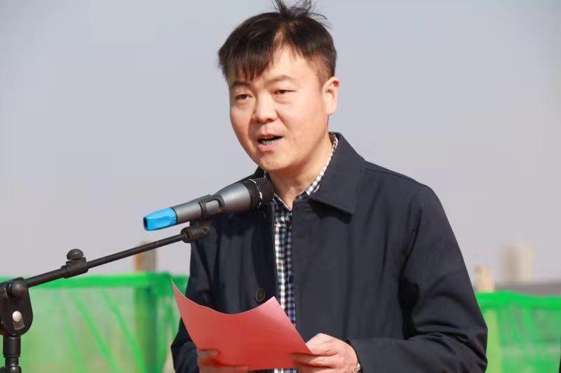 河北定兴县第四批重点项目开工仪式