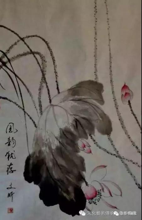 著名画家、中国书画院院士——于文昕花鸟画赏析