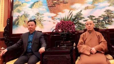 阮先锋到广济寺拜访中国佛教协会副会长释演觉