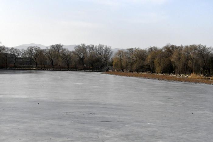圆明园冬景——李月摄影