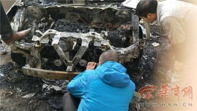 男子刚买半年新车自燃 厂家保险公司拒理赔