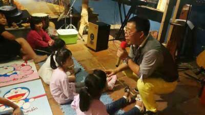 康悦音乐公益开启亲子之旅