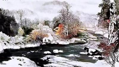 旧年曾许倾城诺,隔梦而来   著名国礼画家凌宇书画院院长沈源