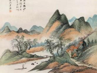 清末画家杨伯润山水作品欣赏