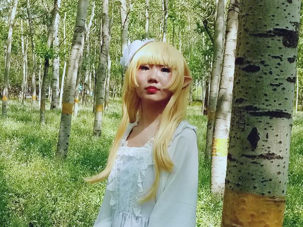 李月手机拍——绿森林里的小精灵