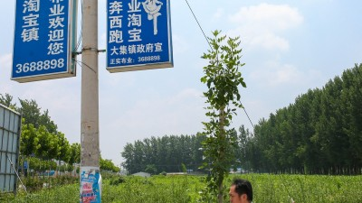 """山东曹县""""淘宝镇""""上的年轻人:海归、博士返乡做电商"""