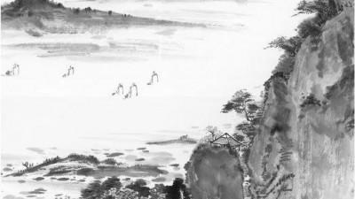 诗画中国:遥忆当年,这片土地上的牛和狗。