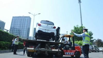 北京交管局:即日起北京全面严整违法停车