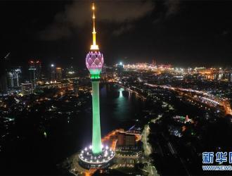 中企承建的南亚最高电视塔