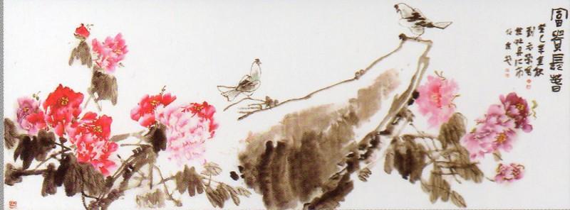 """著名旅日画家刘元红""""牡丹之歌""""主题系列作品展开幕"""