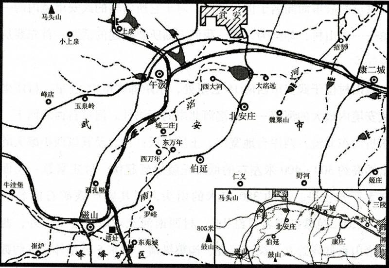 武安城乡总体规划图