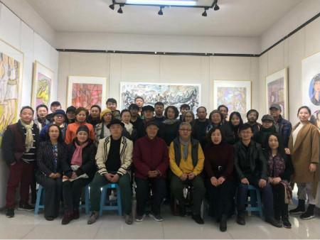 在希望的田野上——王蔚兰绘画作品展在京举行