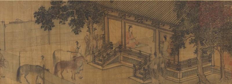 从两幅画看李唐的爱国情怀