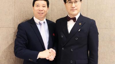 刘瀚锴先生应邀出任AMAEA世界和谐小姐大赛评委