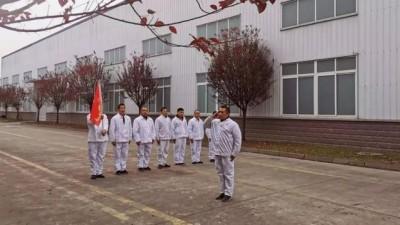 金宫川派味业生管中心冬季整训活动圆满成功