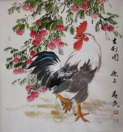 著名书画家周春民为抗击新冠肺炎疫情创作画作、义拍捐款