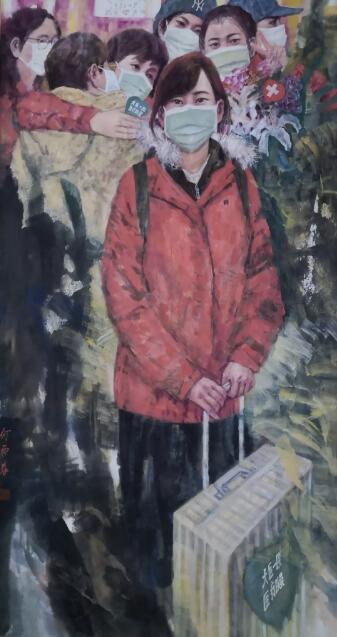 当祖国需要我们的时刻——著名画家何雨春先生抗击疫情系列美术作品欣赏