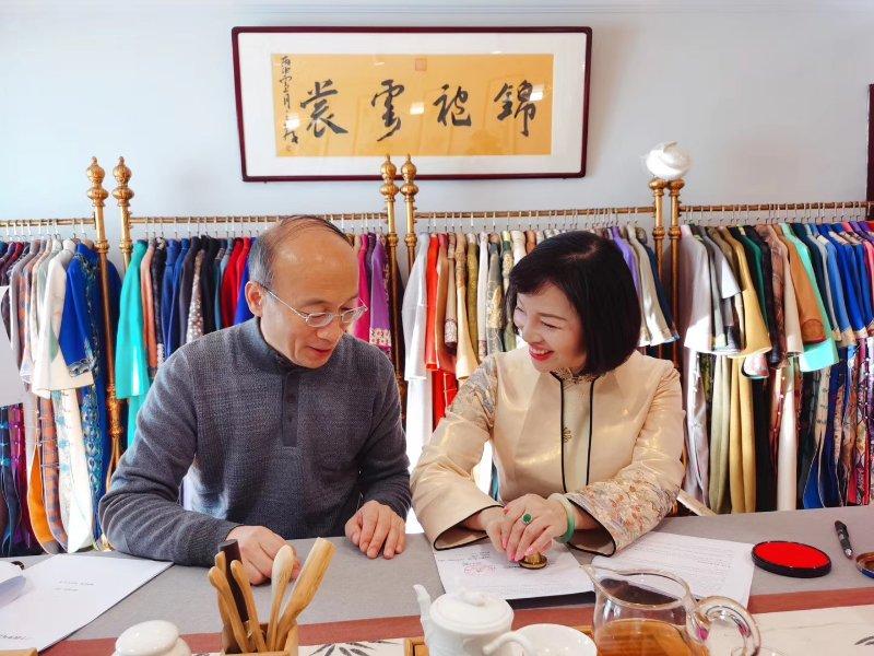 喻双双——弘扬经典旗袍文化 传承中华传统文明