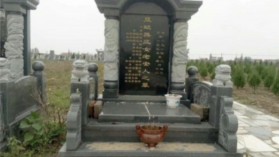 """农村墓碑上的""""故、先、显、考、妣""""啥意思?"""