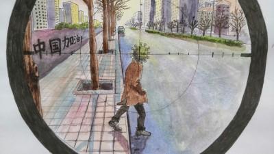 《降魔抗疫》组画——众志成城 抗击肺炎主题网络书画摄影展优秀作品