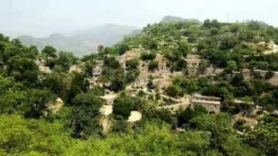 磁县五合村——青石雕、溶洞群,汉光武帝刘秀避难的石头村