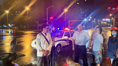 热心民警办案途中紧急救助一受伤女子