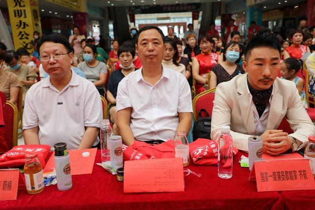 「情满胶东」爱心100文艺服务队赴莱阳慰问演出暨山东分队成立