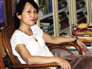 诗人、画家、作家马莉