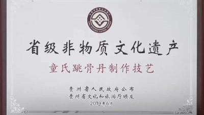 童氏跳骨丹传承人童治强:中医武术世家、非物质文化遗产
