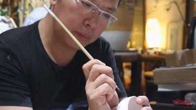 画家杨晓庆的水墨人生
