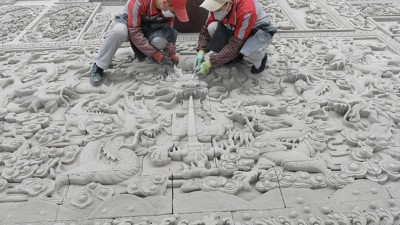 甘肃临夏:砖上的雕画技艺