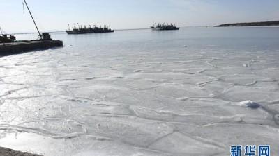 黄渤海海冰冰情较近十年同期偏重