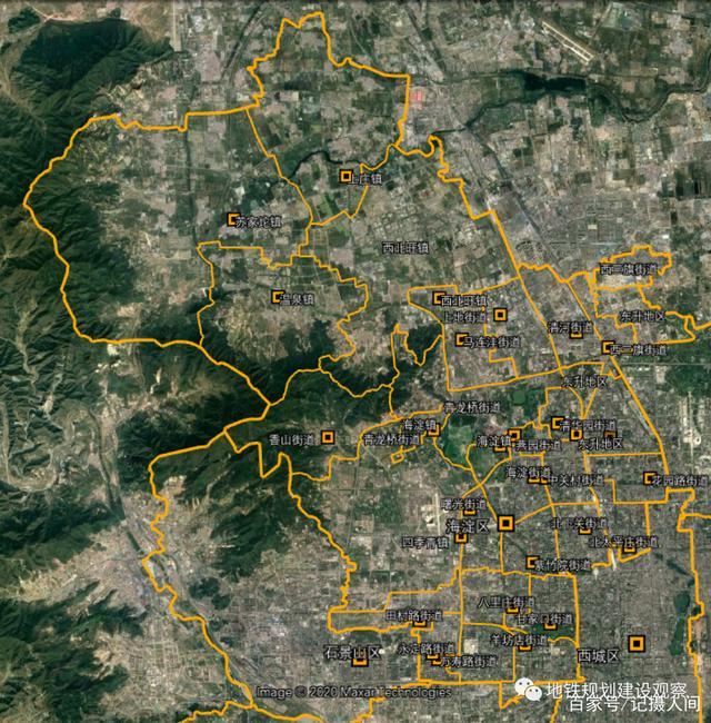 北京行政区划调整(中),朝海丰石及副中心将有哪些变化