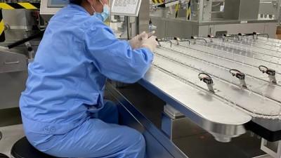 探访北京新冠疫苗车间:24小时不停产