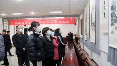 安阳市举行《2021庆祝退役军人保障法施行暨安阳战友情深 笔墨抒怀新春书画展》活动
