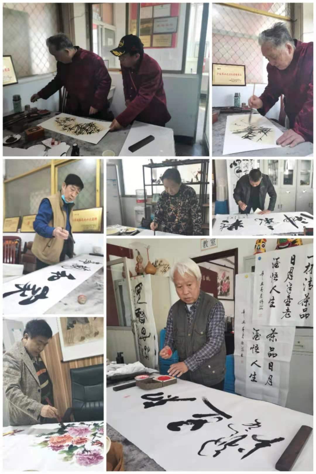 山东省老促会庆祝建党一百周年书画展征稿笔会在济南举办