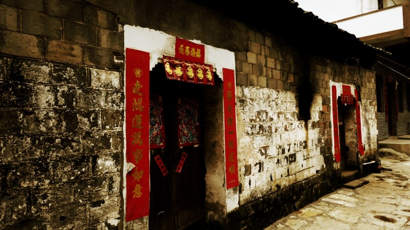 笑琰诗歌摄影:江西万年石镇古建掠影