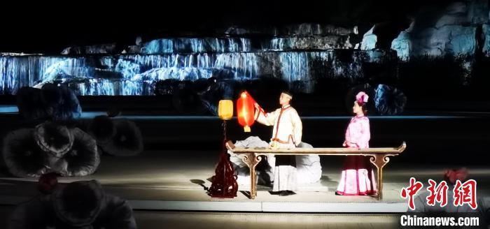 中国首部皇家大型实景演出《康熙大典》恢弘复演