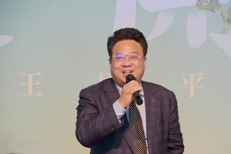 《莲开盛世》王国平禅境油画展5月1日在中华世纪坛开幕