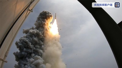 重大突破!世界最大推力整体式固体火箭发动机试车成功